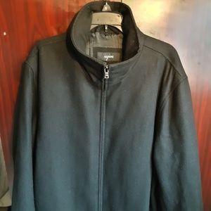 Alfani Large zip up pea coat Excellent Condition